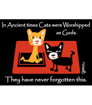 Cat Worship Magnet