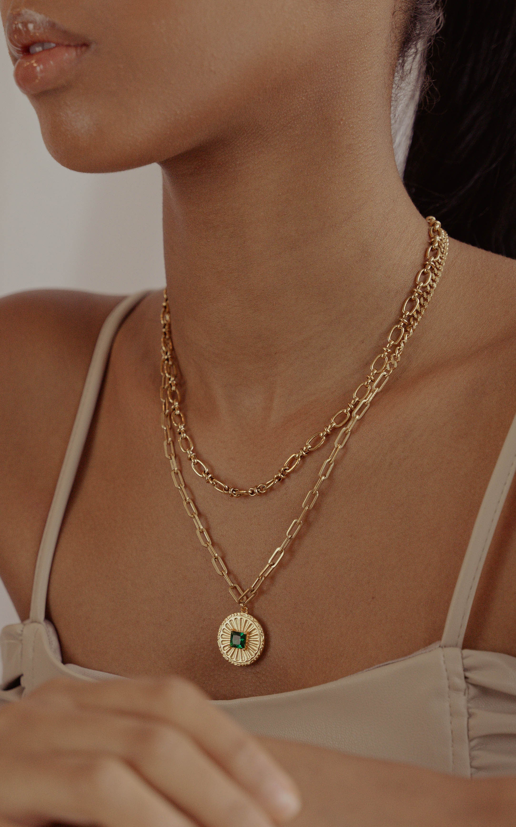 CELESTE Coin Necklace