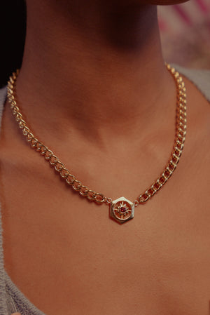 RENELLE Coin Necklace