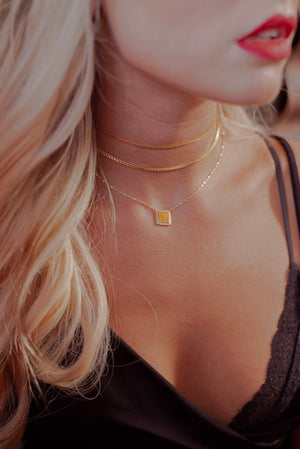 Box Chain Choker Set - Livie Jewelry