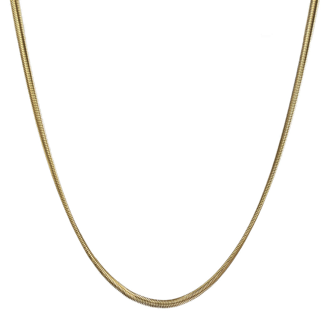 THIN HERRINGBONE CHAIN Necklace