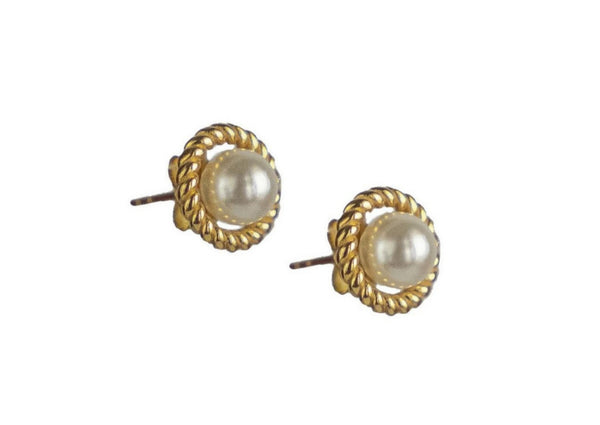 LEX Pearl Stud Earrings