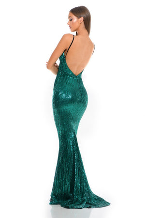 GLISTEN-EMERALD-EVENING-DRESS