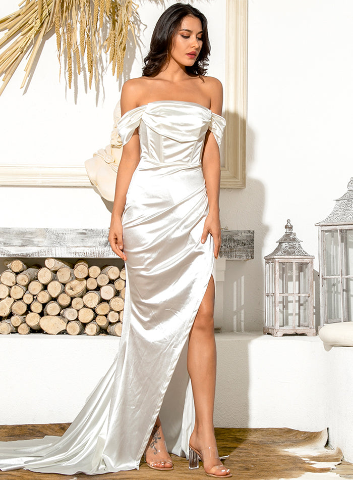 Selina Gown - White