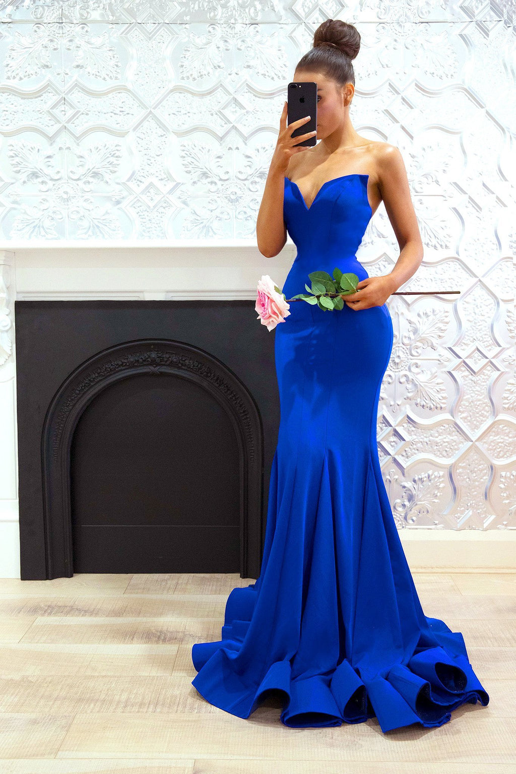 Aliyah Gown Royal Blue