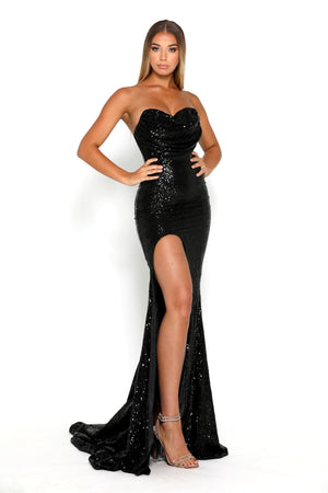 Diamond Gown 5 Black