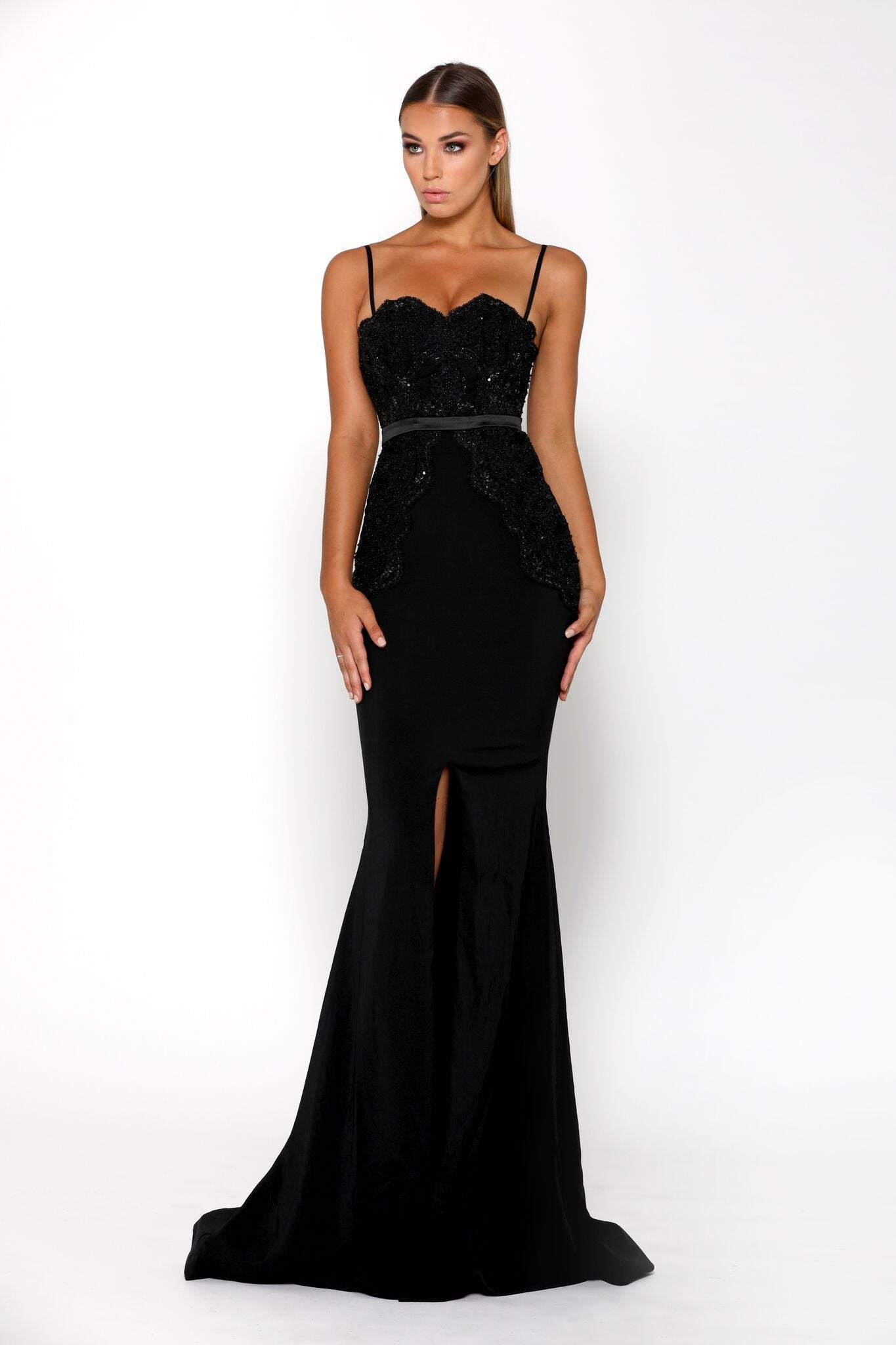 Normagale Gown Black