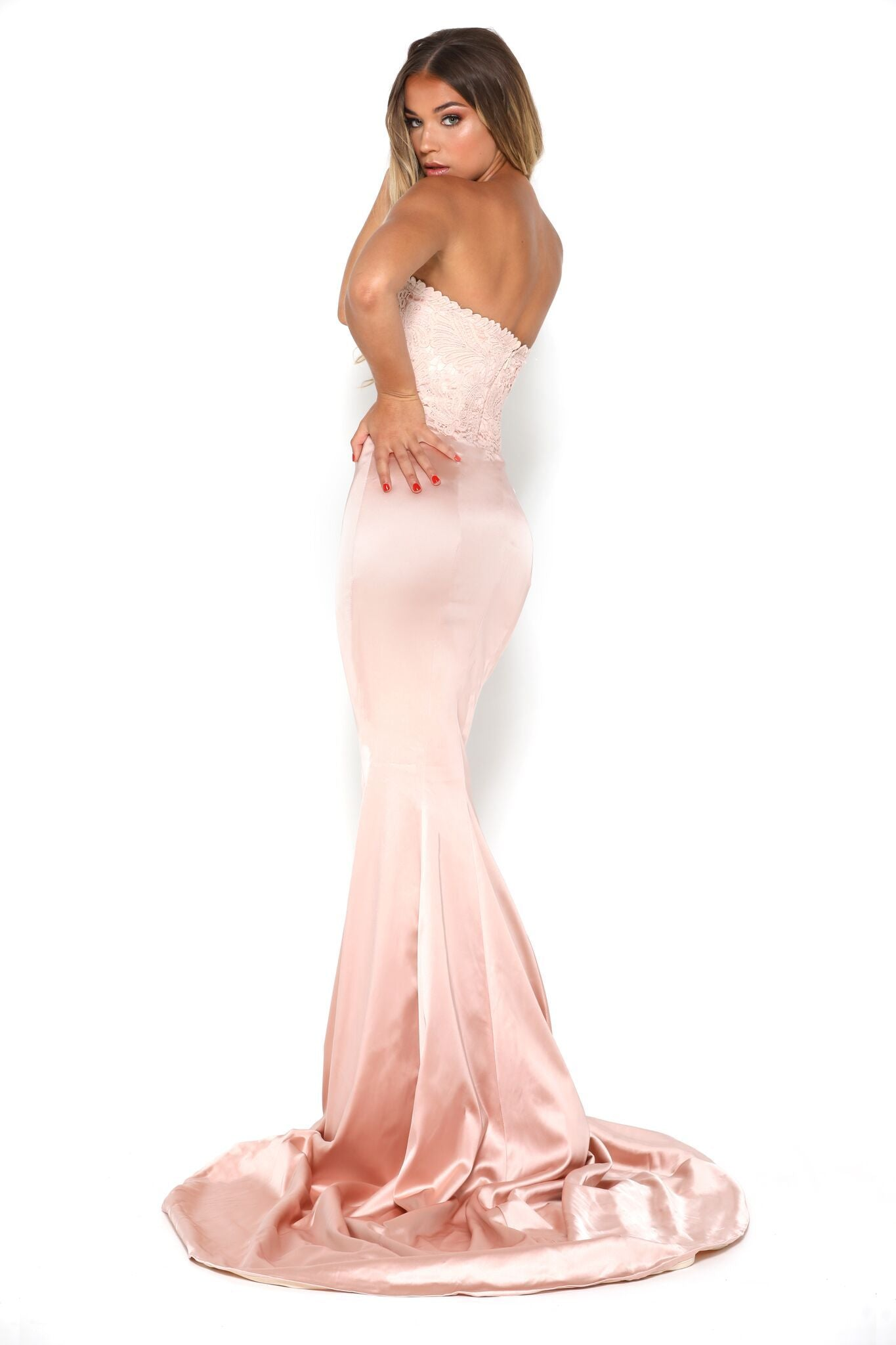 Glamour Gown Blush