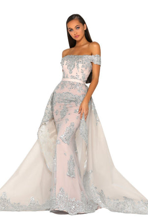 PS5020-GOWN-SILVER-NUDE