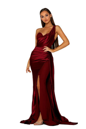 PS5021-GOWN-RED