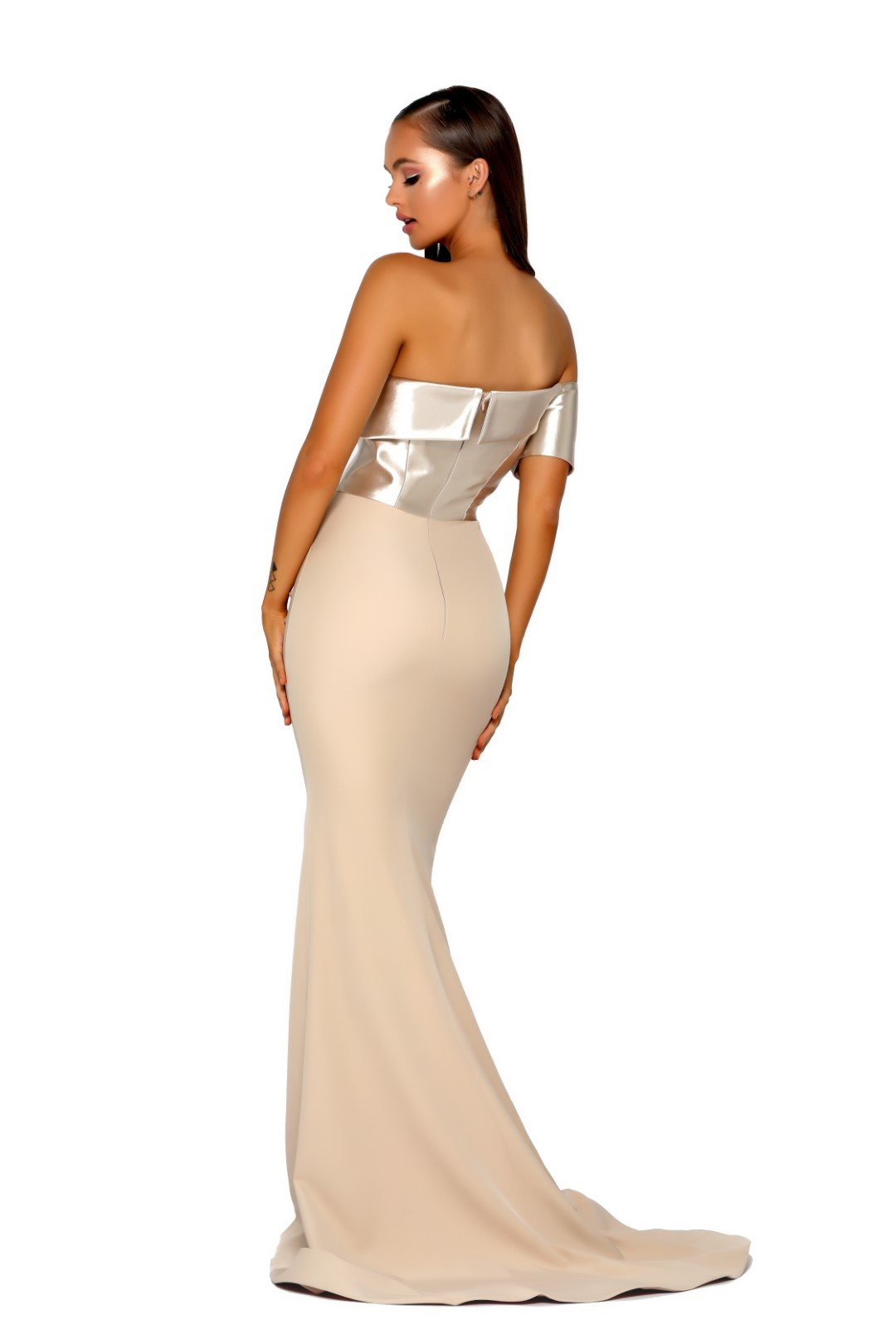 PS5022-GOWN-CHAMPAGNE