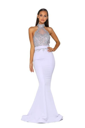 PS5027-GOWN-SILVER