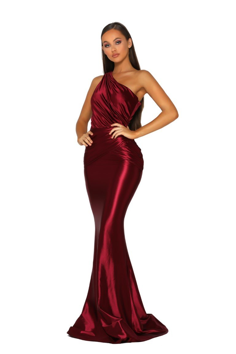 PS5043-GOWN-RED