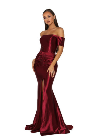PS5045-GOWN-RED