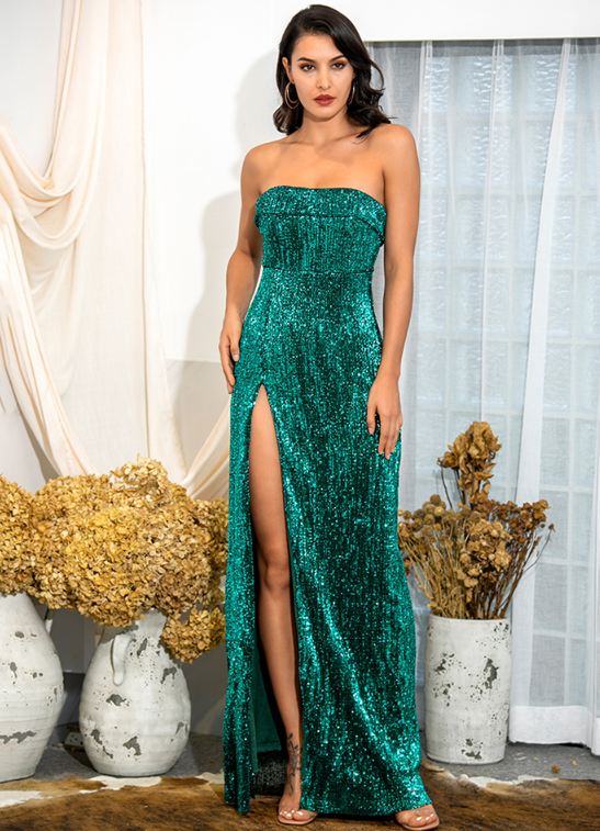 Gigi Gown - Emerald