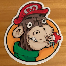 Chimptendo Sticker