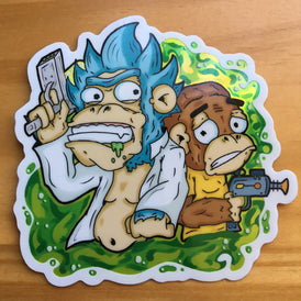 Rick and Chimpy Part Holo