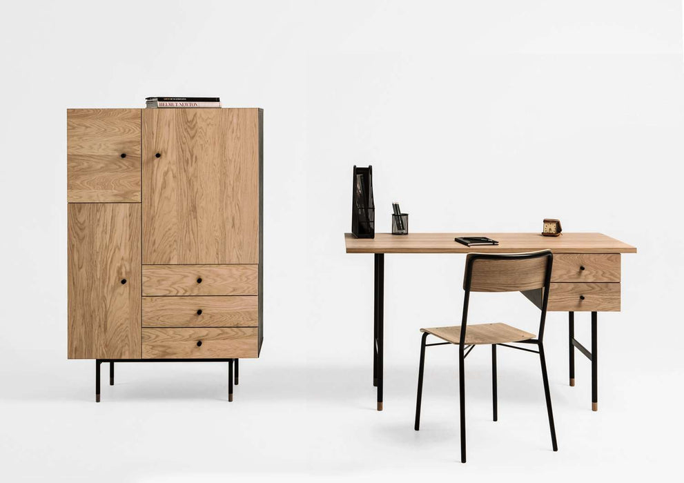Komoda JUGEND Highboard Oak (2165274574912)