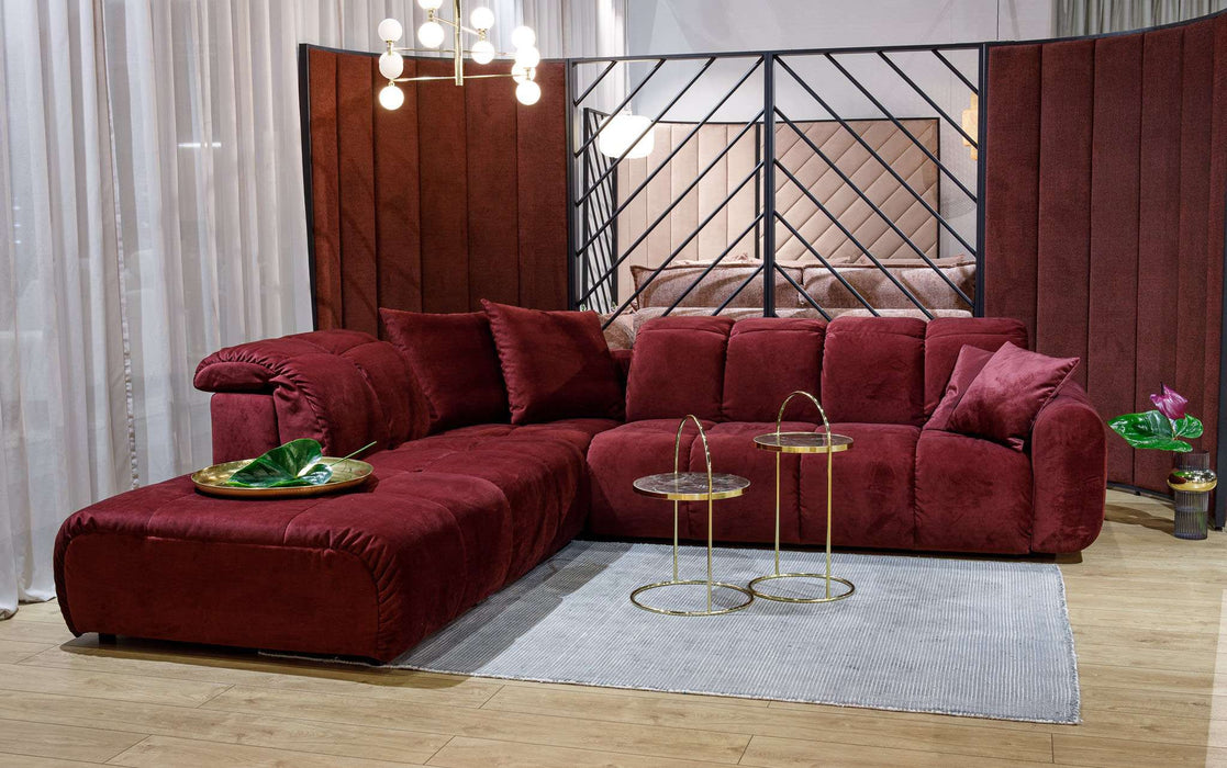 Kampinė sofa BUBLE