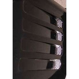 C4 Corvette Side Vent Grilles, Perforated, 2Pc, 1991-1994 - [Corvette Store Online]