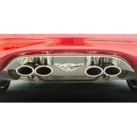 C5 & Z06 Corvette 50th Anniversary Exhaust Filler Panel | 1997-2004 - [Corvette Store Online]