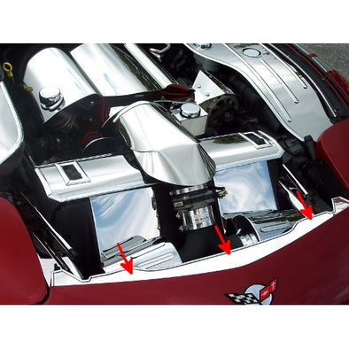 C5 & Z06 Corvette Nose Cap Front | Polished |1997-2004 - [Corvette Store Online]