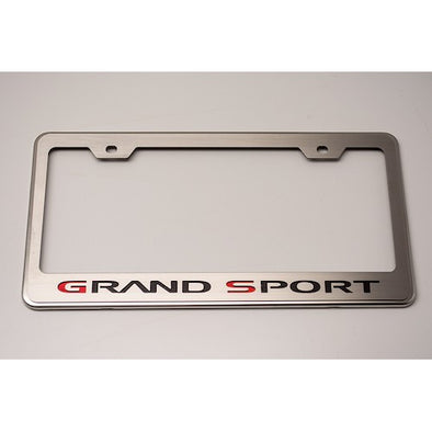 C6 Corvette Grand Sport License Plate Frame - [Corvette Store Online]