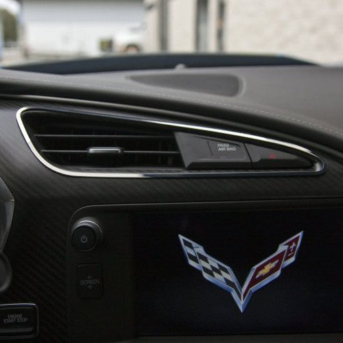 C7 Corvette Stingray | A/C Vent Trim | 2pc - [Corvette Store Online]