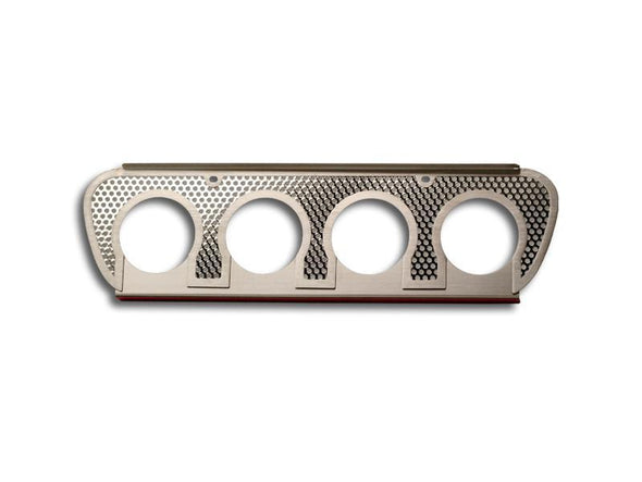 C7/Z06/ZR1/Grand Sport Corvette Perforated Exhaust Filler Panel NPP | Stainless Steel