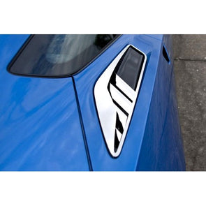 "C7 Corvette Stingray | 10pc | Polished Rear Quarter Vent | ""Z06 Style"" - [Corvette Store Online]"