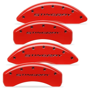"C7 Corvette Stingray | Brake Caliper Cover Set | ""STINGRAY"" Script - [Corvette Store Online]"
