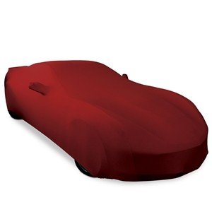 C7 Corvette Solid Color Ultraguard Stretch Satin Indoor Car Cover - [Corvette Store Online]