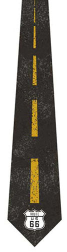 Rt. 66 Neck Tie - [Corvette Store Online]