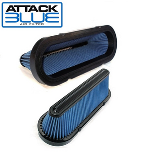 C6 Corvette Attack Blue Replacement Filter |  2006-early 2012 - [Corvette Store Online]