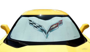 C7 Corvette CoverKing MODA Folding Graphic Sunshield 2014-2019