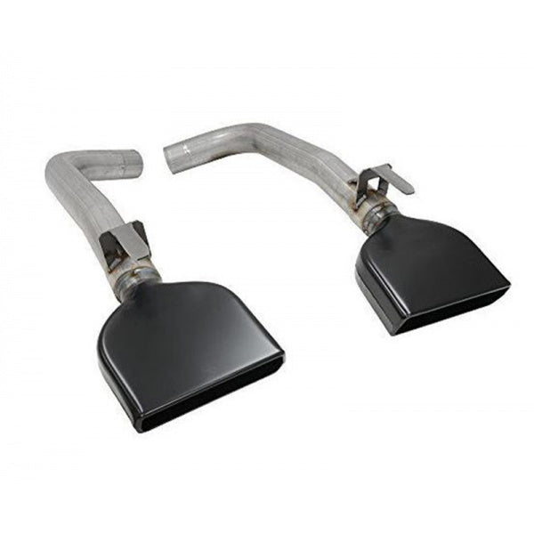 C4 Corvette Muffler Eliminators, With LT1 Tips, 1984-1990 - [Corvette Store Online]