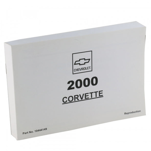 Corvette Owner's Manual 2000 - [Corvette Store Online]