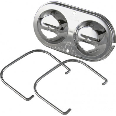 C2/C3 Corvette Brake Master Cylinder Cover, Chrome, 1967-1982 - [Corvette Store Online]