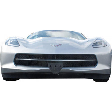 C7 Corvette Sto-N-Sho Frame | Detachable, Front License Plate Holder/Bracket - [Corvette Store Online]