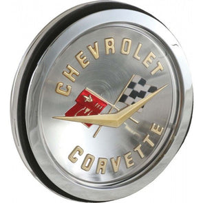 C1 Corvette Front & Rear Emblem Assembly - [Corvette Store Online]