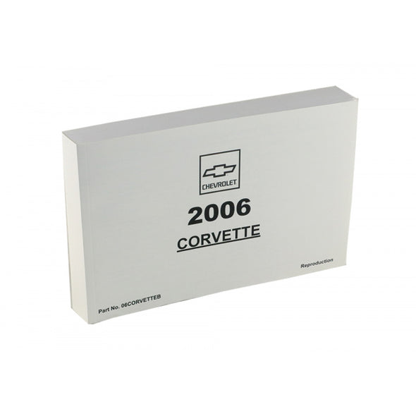 Corvette Owner's Manual 2006 - [Corvette Store Online]