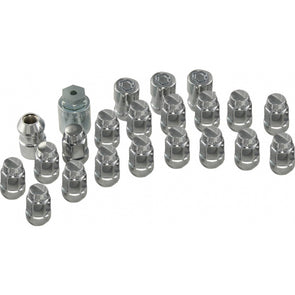 Corvette Wheel Lug Nut & Lock Set |1984-2012 - [Corvette Store Online]