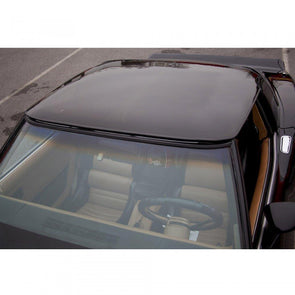 C3 Corvette Roof Panel Smoke Gray Acrylic 1-Piece 1968-1982 - [Corvette Store Online]