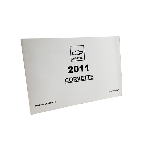 Corvette Owner's Manual 2011 - [Corvette Store Online]