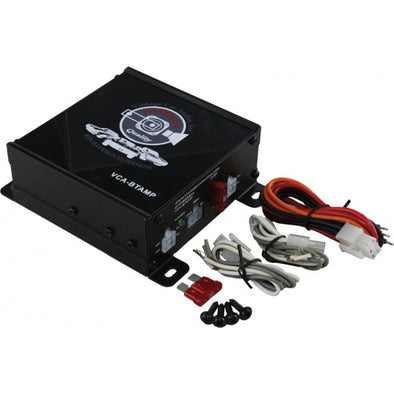 Vintage Car Audio Compact Amplifier, 180 Watts, With Wireless Bluetooth - [Corvette Store Online]
