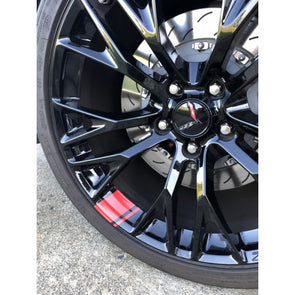 Next Generation Corvette Wheel Hash Decal Package - [Corvette Store Online]