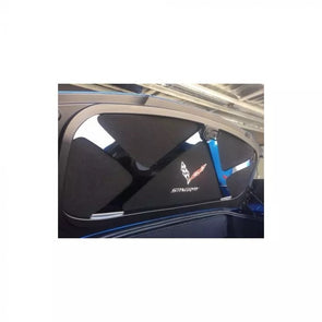 Corvette C7 Logo Black Trunk Liner 2014-2019