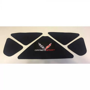Corvette C7 Grand Sport Logo Black Trunk Liner 2014-2019