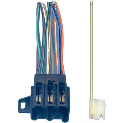 Corvette Radio Wiring Harness & Connector, 1977 Late-1989 - [Corvette Store Online]