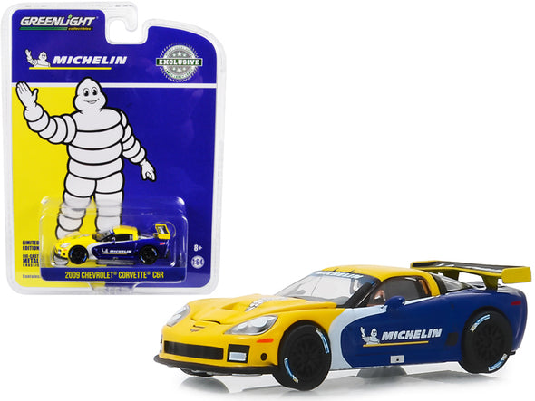 "2009 Chevrolet Corvette C6R ""Michelin Tires"" ""Hobby Exclusive"" 1/64 Diecast - [Corvette Store Online]"